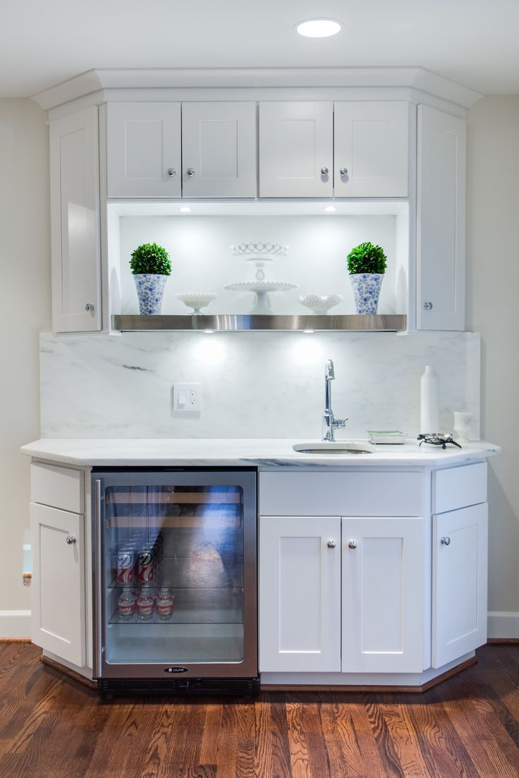 WOLF Dartmouth Cabinets in white featured in a Dallas