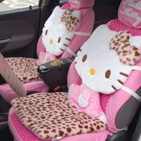 Hello kitty seat covers   WANT  Pinterest  Seat