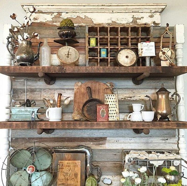 17 Best ideas about Antique Kitchen Decor on Pinterest