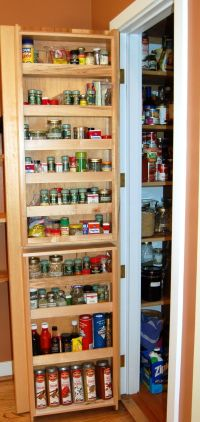 78 Best ideas about Pantry Door Storage on Pinterest