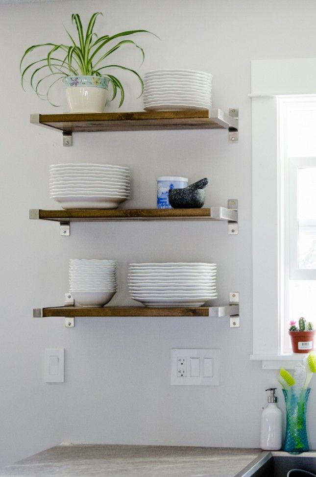 √ 25+ Best Ideas about Kitchen Shelves on Pinterest Kitchen Ideas Pinterest Shelving on kitchen storage pinterest, kitchen curtains ideas pinterest, small kitchen ideas pinterest, bathroom shelving ideas pinterest, kitchen table ideas pinterest, kitchen cabinets pinterest, wire shelving ideas pinterest,