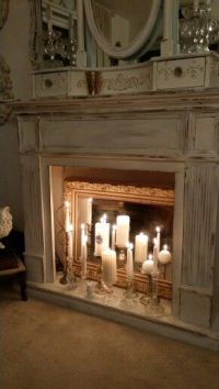 Best 25+ Fake Fireplace ideas on Pinterest | Faux ...