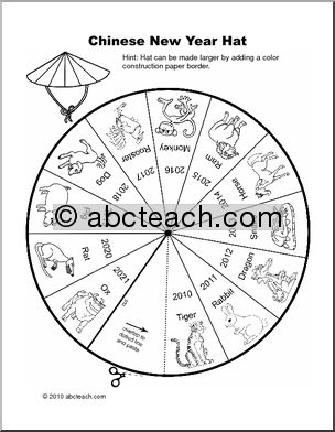Chinese new years, Word puzzles and Student teacher on