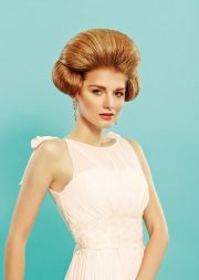 modern bouffant big hair - retro