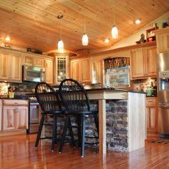 Best Undermount Kitchen Sinks Pantry Organization Ideas Kraftmaid Natural Hickory. Native Custom Stone Backsplash ...