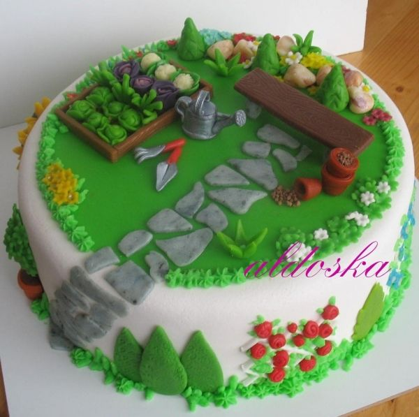25 Best Ideas About Vegetable Garden Cake On Pinterest Garden