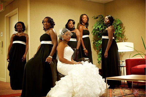 Black People Wedding Reception Dancing  Real NY Wedding Natifia Gaines  Donald Mullings