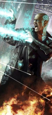 Shadowrun mage: