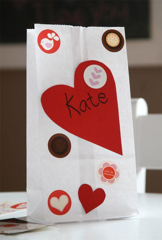 Sticker Fun For Valentines Day Valentines Day Ideas