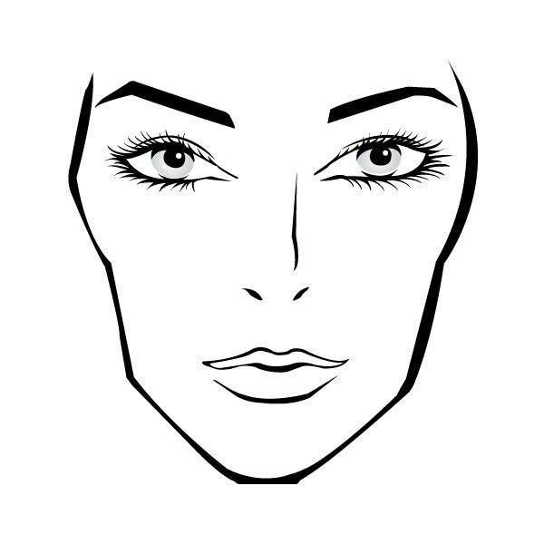 50 best images about BLANK FACE CHARTS on Pinterest