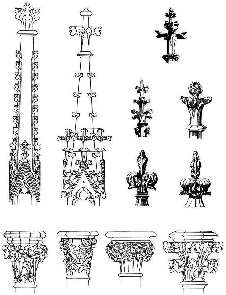 10+ images about Gothic architectural Art on Pinterest