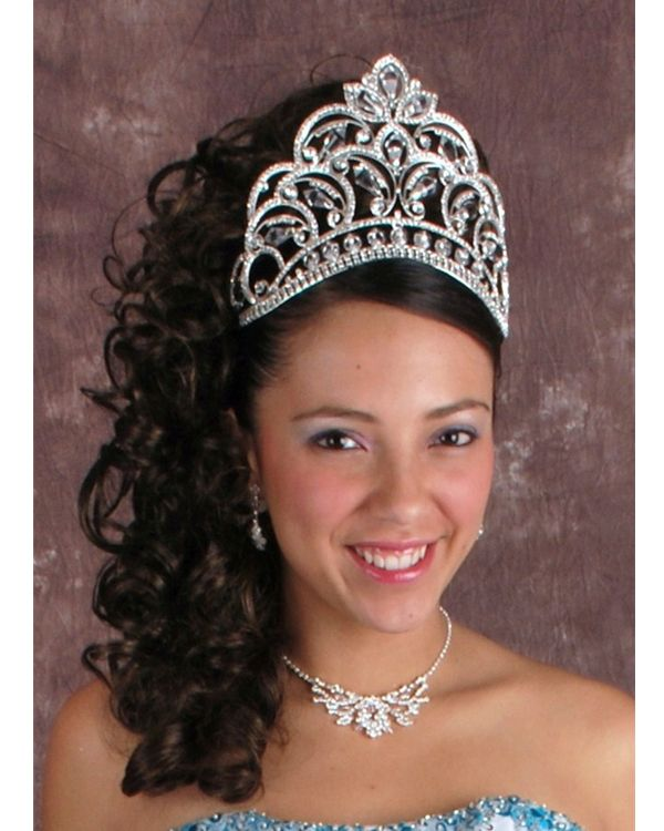 Latest Hairstyle Quinceanera Hairstyles With Tiara Inspiring