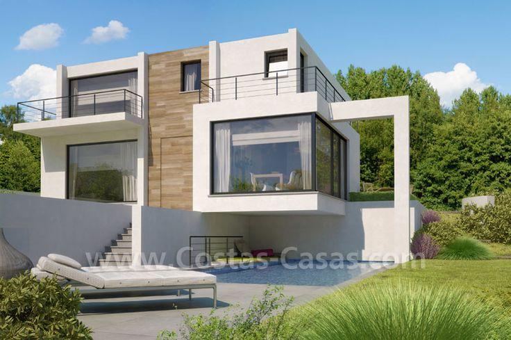 villa moderne  Recherche Google  Projets  essayer  Pinterest  Villas and Modern