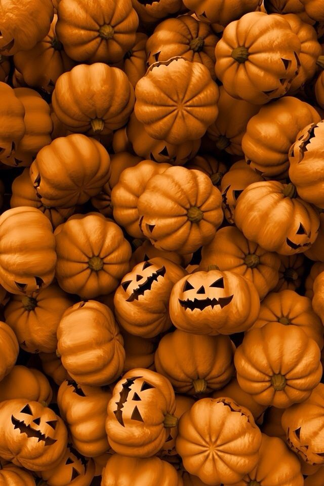 Whimsical Fall Desktop Wallpaper Cute Phone Background Here Comes Halloween Pinterest