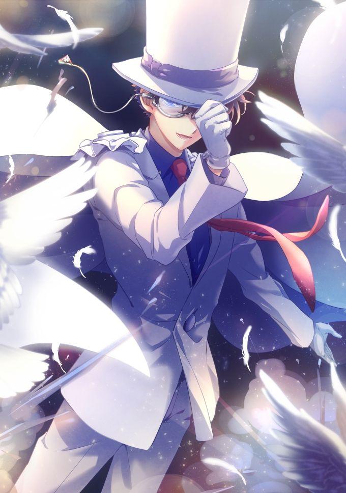 Fall Anime Wallpaper Vocaloid Kaito Kid Detective Conan Pinterest Kid Detective