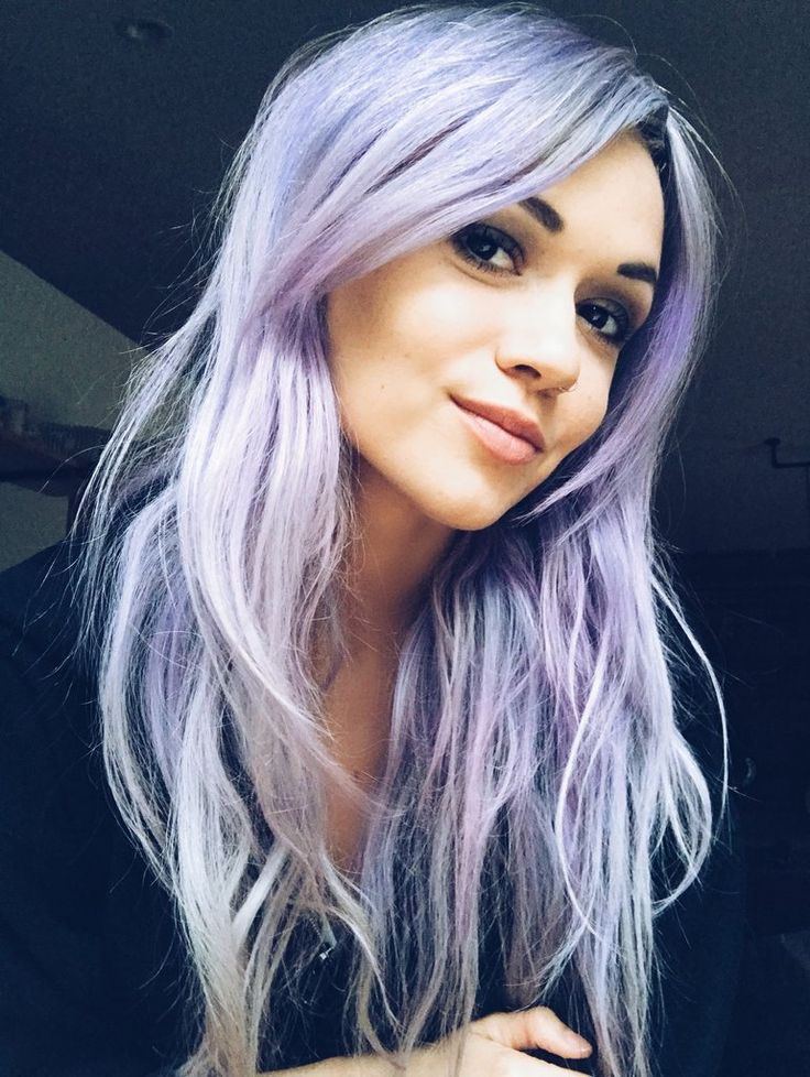 25+ best ideas about Lavender Hair on Pinterest