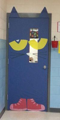Pete The Cat door...door decorating contest - I Love to ...