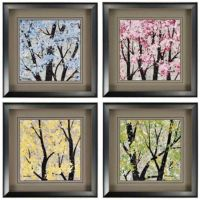 142 best images about 4 Season wall decoration on ...