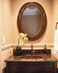copper sink oil rubbed bronze faucet powder room uba tuba ...