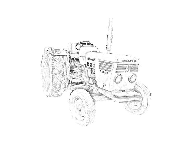 Tractor Kleurplaat Fendt Kleurplaat Tractor Graafmachines