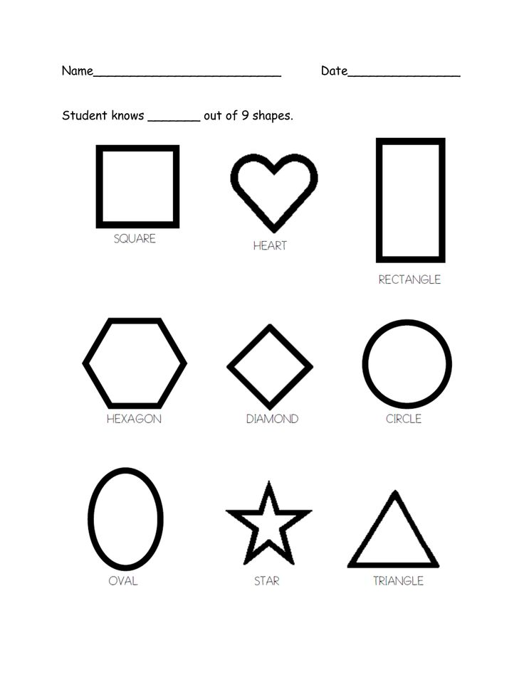 85 best images about my preschool assessments on Pinterest
