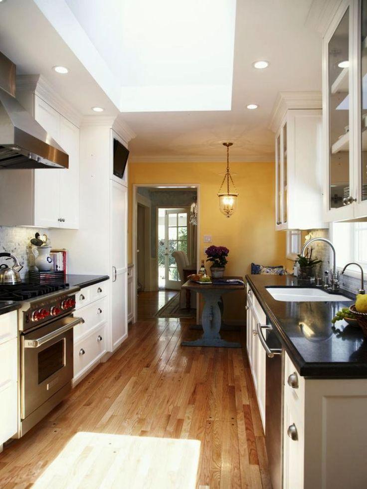 small galley kitchen makeovers  Kitchen  Pinterest