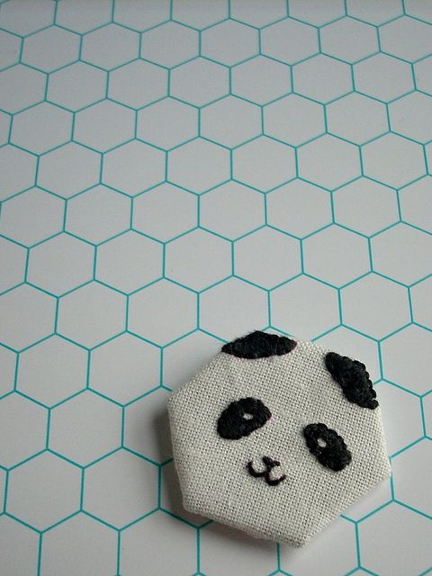 great idea to have colored grout for white tiles  Filling