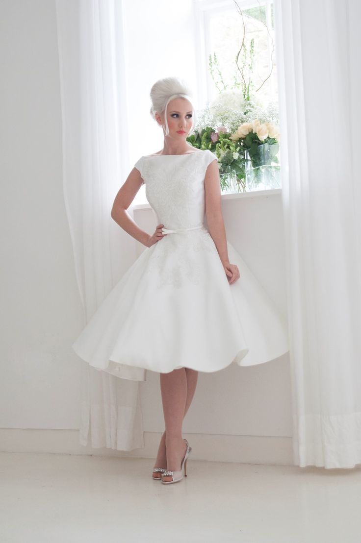266 best Tea Length  Short Wedding Dresses images on