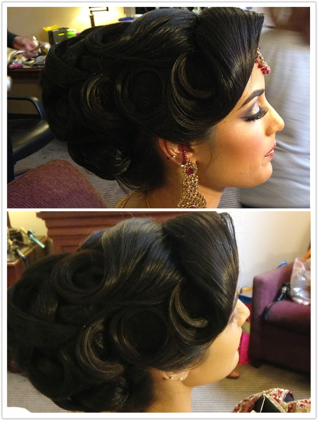 257 Best Images About Bridal Hair For Indian Pakistani Brides On