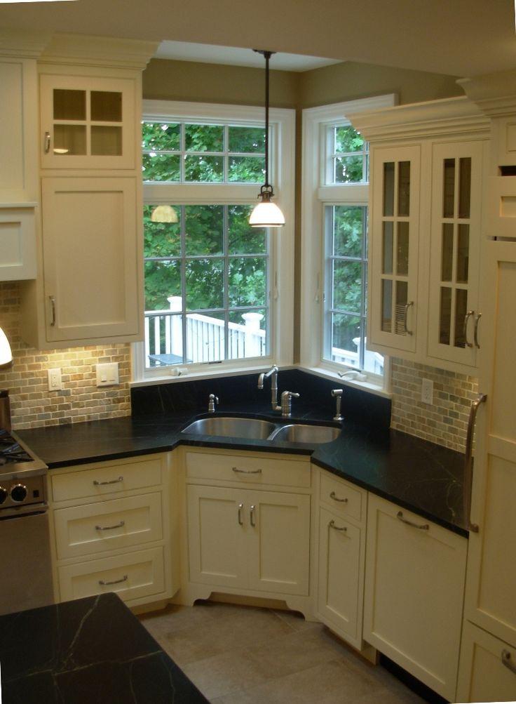 Corner sink Sinks and Corner kitchen sinks on Pinterest