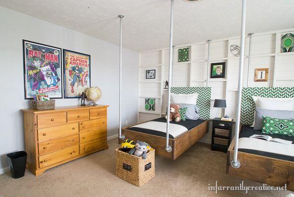 17 Best ideas about Gray Boys Bedrooms on Pinterest