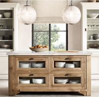 restoration hardware kitchen island  Roselawnlutheran