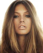 blonde hair olive skin tones
