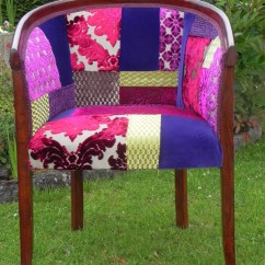 Tub Fabric Accent Chair Patchwork Little Girl Chairs Rich Berry By Katie Moore | Sew Upholstery Pinterest ...