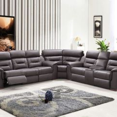Lane Leather Sofa At Sam S Futon Beds Direct Reviews 25+ Best Ideas About Reclining Sectional On Pinterest ...