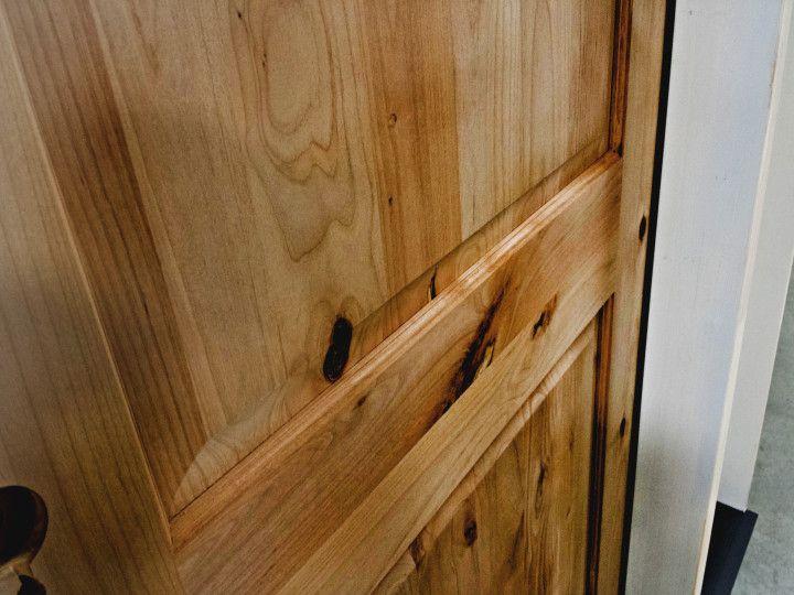 Knotty Alder Wood  Exterior 8 Knotty Alder Wood Door