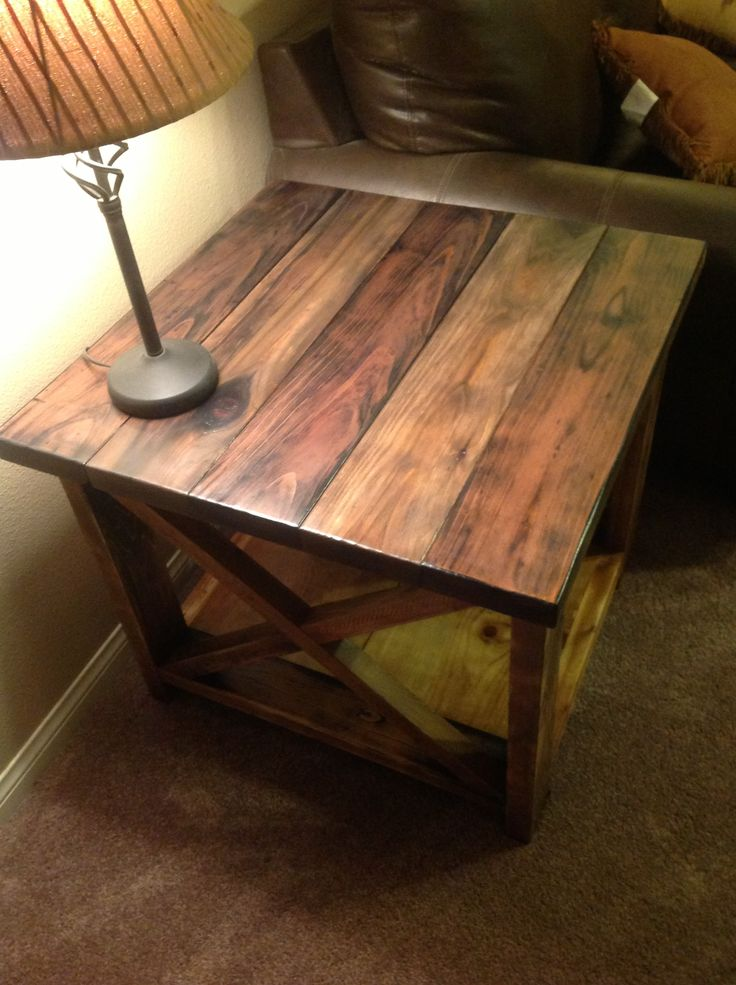 Best 25+ Rustic end tables ideas on Pinterest