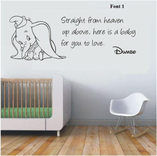 25+ best ideas about Dumbo nursery on Pinterest