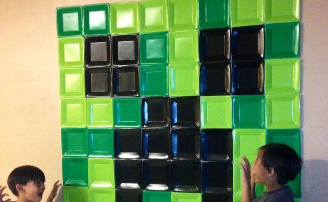 Minecraft Wall Decoration Home Decor Pinterest