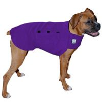 BOXER Tummy Warmer, Fleece Dog Coat, Sweater for Dogs, Dog ...
