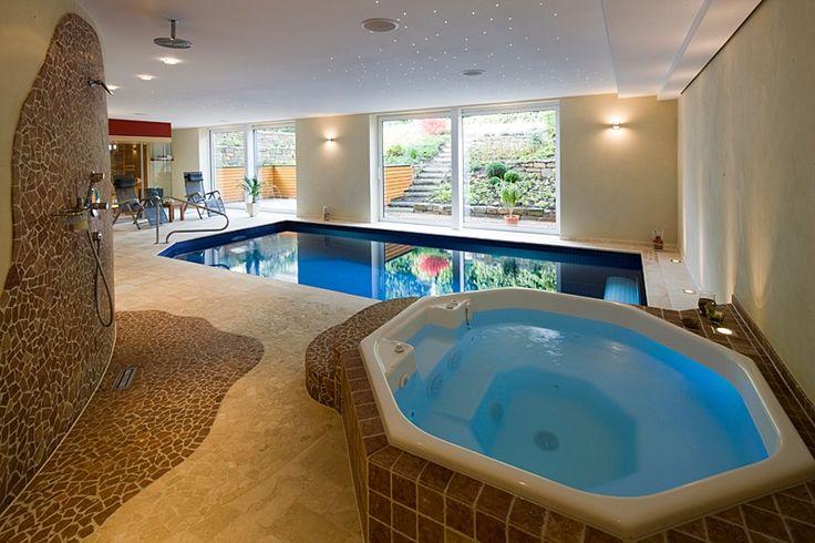 beautiful indoor pool bauen traumhafte schwimmbaeder images ... - Das Modulare Raumtrennsystem Benjamin Hubert