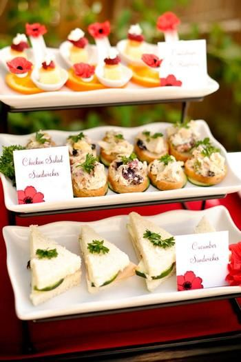 816 Best Images About Tea Party Savory Foods On Pinterest