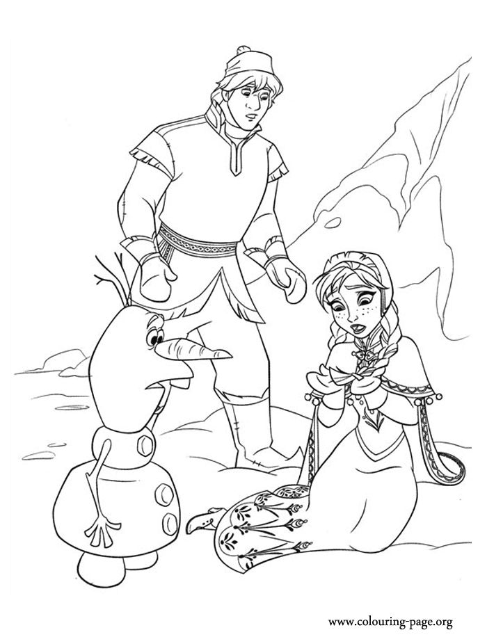 25+ best ideas about Frozen coloring pages on Pinterest