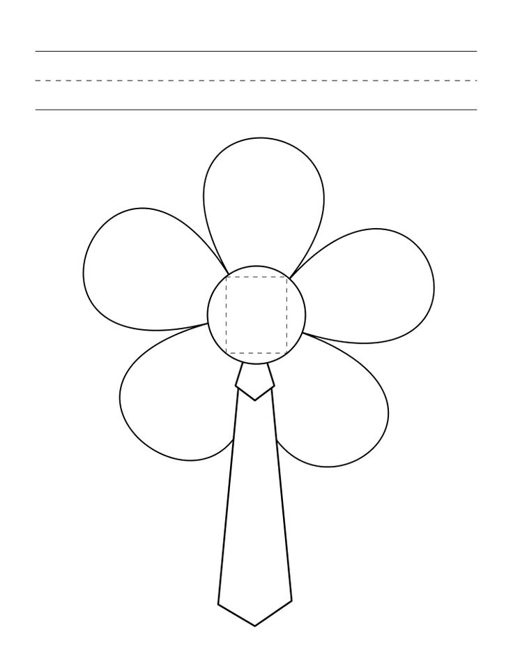 early play templates: Mothers Day Flower templates and