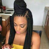 25+ best ideas about Cute box braids on Pinterest