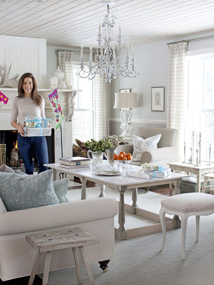 Holiday Decorating With Sarah Richardson  Sarah richardson Opaline and The chandelier