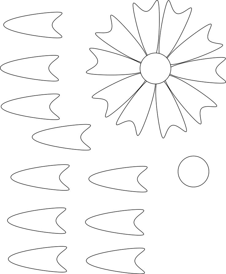 64 best Leaf & Petal Outlines images on Pinterest