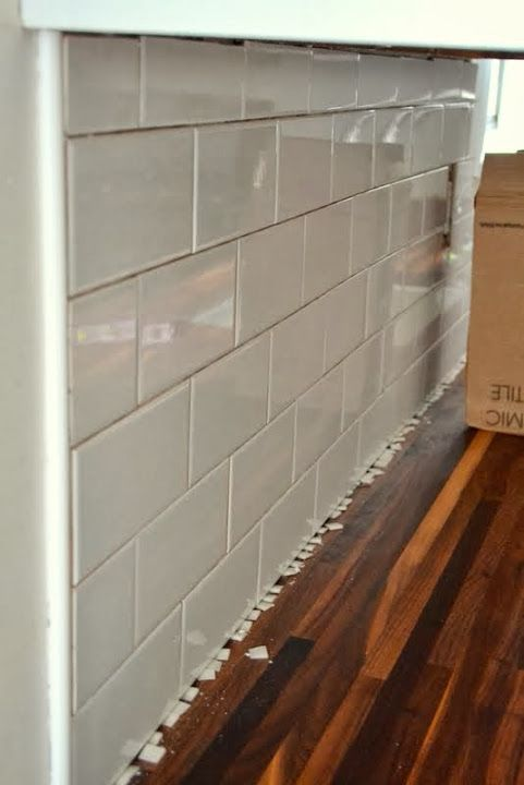 How to Add a Tile Backsplash in the Kitchen  The end