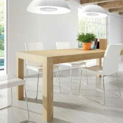 Dining Chair Covers Cork Cool High Chairs Mesa De Madera Color Haya Con Sillas Blancas | Comedor Pinterest Blog, Mesas And Colors