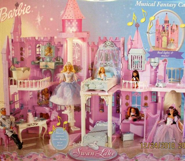 Barbie Swan Lake Castle Play Set My Barbie Collections